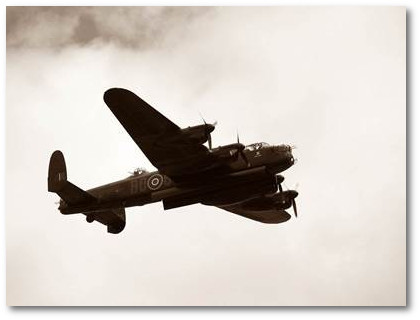 Avro Lancaster lost over Gelsenkirchen, hit by Flak