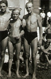 Gianfranco, Robert und Werner, August 1940