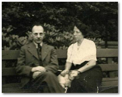 Siegfried Block and his wife Hedwig
